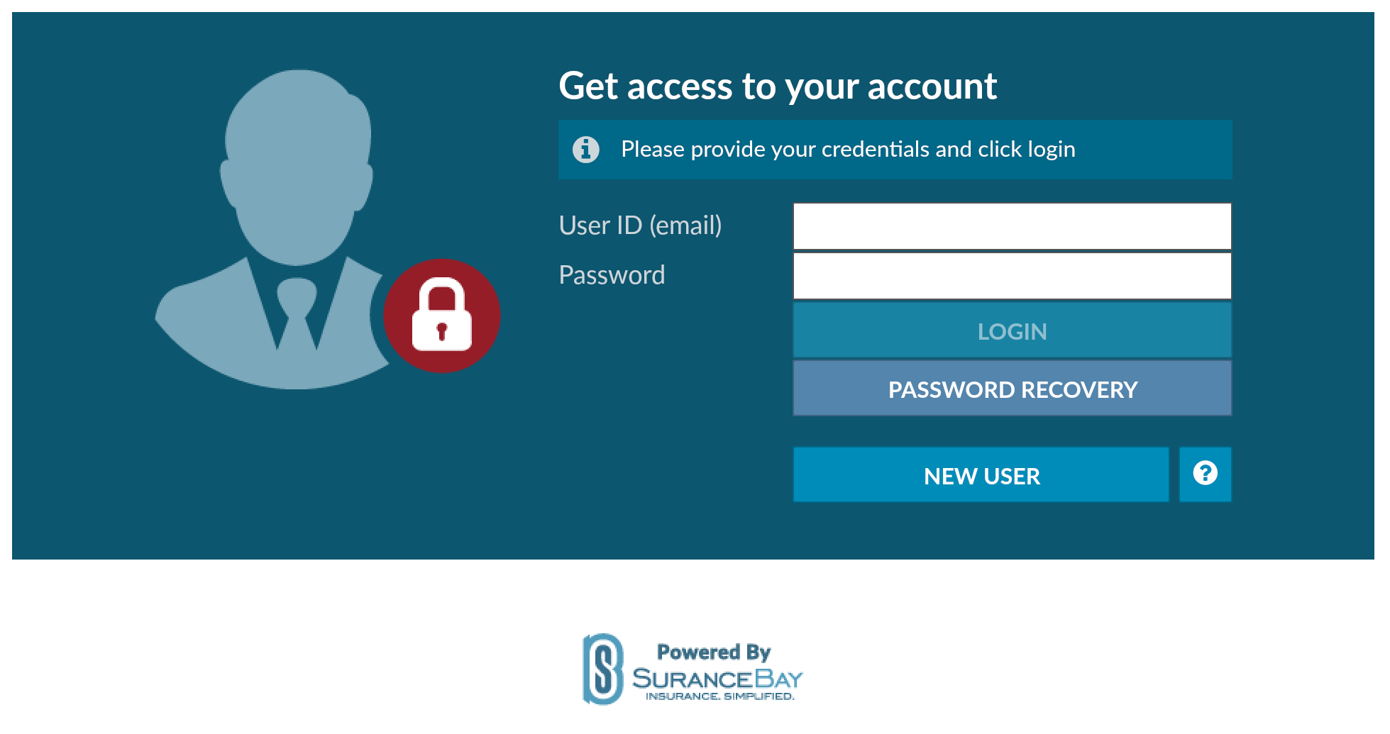 Image of SureLC portal used by J.L. Thomas & Company to help professionals get licensed with insurance companies.